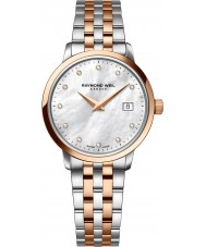 Raymond Weil 5988-SP5-97081 Ladies Toccata Two Tone Steel Diamond Watch