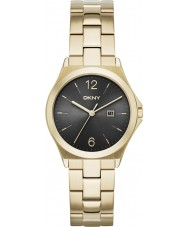 DKNY NY2366 Ladies Parsons Gold Plated Watch
