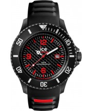 Ice-Watch CA.3H.BK.B.S.15 Mens Ice-Carbon Black Silicone Strap Big Watch