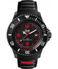 Ice-Watch CA.3H.BK.B.S.15 Mens Ice-Carbon Black Silicone Strap Big Watch