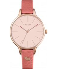 Radley RY2388 Ladies Millbank Papaya Leather Strap Watch