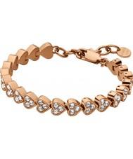 Dyrberg Kern 337017 Ladies Muamor Rose Gold Plated Tennis Bracelet