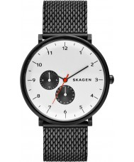 Skagen SKW6188 Mens Hald Grey Mesh Strap Watch