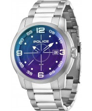 Police 14386JS-02MA Mens Sniper Black Silver Watch