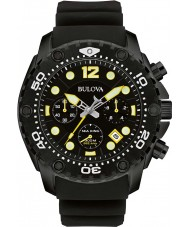 Bulova 98B243 Mens Sea King UHF Black Chronograph Watch