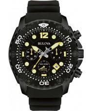 Bulova 98B243 Mens Sea King UHF Black Chronograph Watch