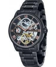 Thomas Earnshaw ES-8006-55 Mens Longitude Black IP Steel Bracelet Watch