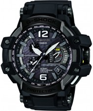 Casio GPW-1000-1BER Mens G-Shock Solar Powered Black Mixed Strap Watch