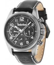Timberland 14769JSBU-02 Mens Smithfield Black Leather Strap Watch