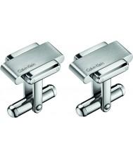 Calvin Klein KJ2FMC080100 Mens Cufflinks Invigorate Stainless Steel Cufflinks