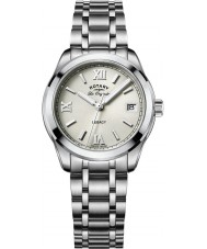 Rotary LB90173-06 Ladies Timepieces Legacy Silver Steel Bracelet Watch