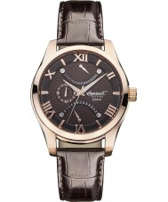 Ingersoll INQ017BRRS Mens Burlington Brown Rose Gold Watch