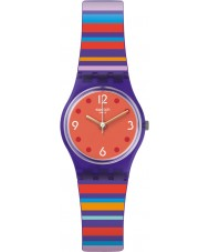 Swatch LV119 Ladies Multi-codes Multicoloured Silicone Strap Watch