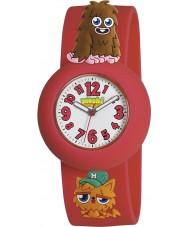 Moshi Monsters MMFU-0002 Kids Furi Red and Gingersnap Watch
