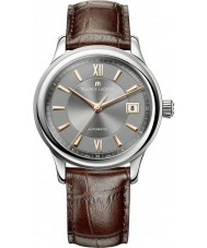 Maurice Lacroix LC6027-SS001-310 Mens Les Classiques Automatic Grey, Rose Gold and Brown Watch