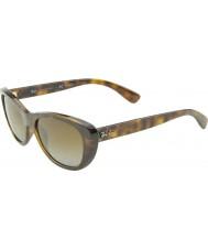 RayBan RB4227 55 Highstreet Light Havana 710-T5 Polarized Sunglasses