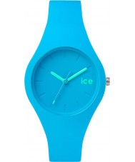 Ice-Watch ICE.NBE.S.S.14 Ice-Ola Small Neon Blue Silicone Strap Watch