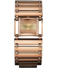 Mango QM261-79-01 Ladies Polished Rose Gold Watch