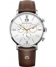 Maurice Lacroix EL1088-SS001-112-1 Mens Eliros Brown Chronograph Watch