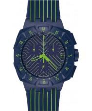 Swatch SUIN401 Chrono Plastic - Fast Run Watch