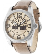 Timberland 14770JS-07 Mens Bolton Brown Leather Strap Watch