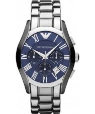 Emporio Armani AR1635 Mens Classic Chronograph Blue Silver Watch