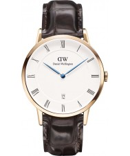 Daniel Wellington DW00100085 Mens Dapper 38mm York Rose Gold Watch