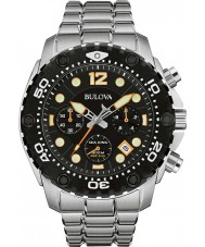Bulova 98B244 Mens Sea King UHF Steel Chronograph Watch