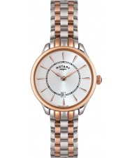 Rotary LB02917-02 Ladies Timepieces Elise Two Tone Rose Gold Watch
