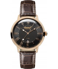 Ingersoll INQ043BKRS Mens Brown Leather Strap Watch