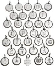 Edblad 116130237-E Charmentity E Silver Steel Small Pendant