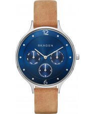 Skagen SKW2310 Ladies Anita Light Brown Leather Multifunction Watch