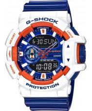 Casio GA-400CS-7AER Mens G-Shock World Time Blue Combi Watch
