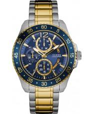 Guess W0797G1 Mens Jet Two Tone Steel Bracelet Watch
