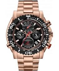 Bulova 98B213 Mens Precisionist Rose Gold Chronograph Watch