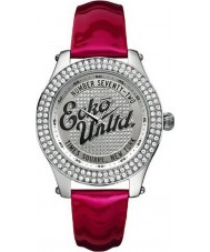 Marc Ecko Midsize Rollie Silver Red Watch