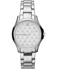 Armani Exchange AX5208 Ladies Silver Steel Bracelet Dress Watch