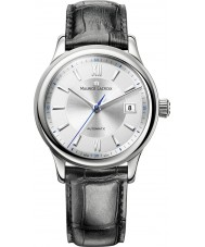 Maurice Lacroix LC6027-SS001-110-3 Mens Les Classiques Automatic Steel and Black Watch