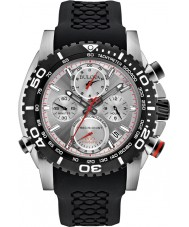 Bulova 98B210 Mens Precisionist Black Chronograph Watch