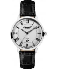 Ingersoll INQ043SLSL Mens Black Leather Strap Watch