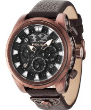 Police 14473JSQBZ-02 Mens Mephisto Brown Watch