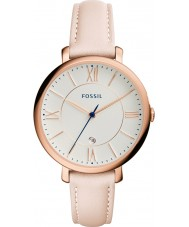 Fossil ES3988 Ladies Jacqueline Light Blush Leather Strap  Watch