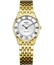 Rotary LB90803-01 Ladies Ultra Slim Gold Plated Watch