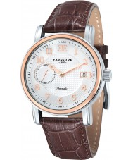 Thomas Earnshaw ES-8027-03 Mens Fitzroy Brown Leather Automatic Watch