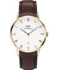 Daniel Wellington DW00100086 Mens Dapper 38mm Bristol Rose Gold Watch