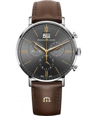 Maurice Lacroix EL1088-SS001-812-2 Mens Eliros Brown Chronograph Watch