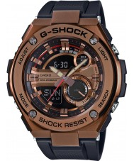 Casio GST-210B-4AER Mens G-Shock Auto Led Light Black Resin Strap Watch