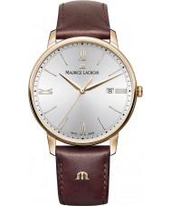Maurice Lacroix EL1118-PVP01-111-1 Mens Eliros Brown Leather Strap Watch
