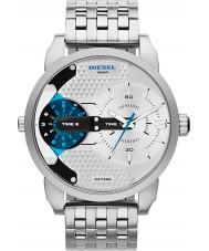 Diesel DZ7305 Mini Daddy Silver Multifunction Watch