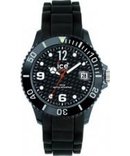 Ice-Watch SI.BK.U.S.12 Sili Forever Black Strap Watch